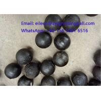 China High Chrome Cr 10% Cast Iron Steeel Balls for mining grinding wholesale