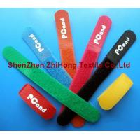 China Colored adjustable Self gripping hook loop cable tie straps on sale