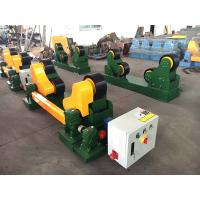 Buy cheap Self Adjustment Welding Pipe Rollers 10t Capacity Tank Pipe Turning Rollers from wholesalers