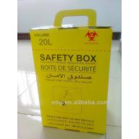 China 20L Safety box, Disposable Medical Cardboard Safety Box, Safety Box For Syringe,Needles and sharps, 20 Liters wholesale