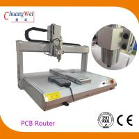 Quality 5000 rpm Spindle Desktop PCB Router Machine 650mm X 450mm Working Area for sale