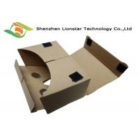 China Craft Goggles 3D Glasses Cardboard VR Viewer For 3D Movies / Family Cinema on sale