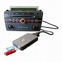 China Car MP3 USB SD Aux Connector, Easy to Install and Use wholesale