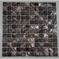 China Groutless Mother Of Pearl Subway Tile Backsplash Home Depot Polished Finish wholesale
