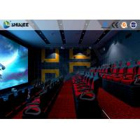 China Electronic 4D Theater System 4D Motion Chair Surrounding Environment Simulation wholesale