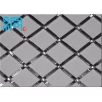 China wire dia 0.3mm flat top crimped mesh wholesale