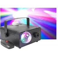 China Mini 400w 2 in 1 Stage Fog Machine / Stage Smoke Machine With Crystal Ball Light wholesale