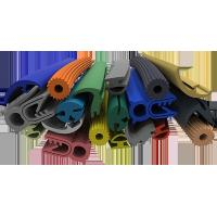 China Multi Color Silicone Extruded Rubber Profiles Chemically Extremely Stable wholesale
