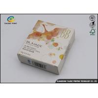 China BB Cream Cosmetic Packaging Boxes with Insert Tray / Offset Printing wholesale