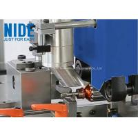 China Fully Auto Armature Rotor Turning Machine Plc Control In Blue / Customized Color wholesale