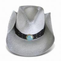 China Natural Grass Party Hat, Available in Various Colors and Designs wholesale
