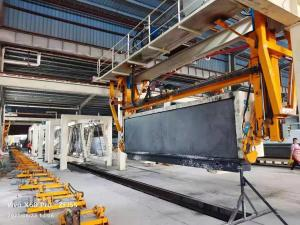 China H4810mm Grouping Crane AAC Machine Overturn Table wholesale