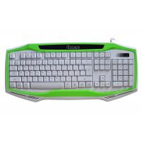 China Professional Gaming Computer Keyboard WINDOWS / MAC OS Usb Cool Gaming Keyboards wholesale