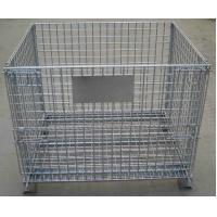 China Storage Cage,Wire Mesh Container,Supermarket Mesh Container,Mesh Basket,50x50mm,50x100mm opening wholesale