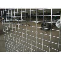 China Construction Engineering Weld Mesh Sheets , Welded Steel Mesh Pieces Any Size wholesale