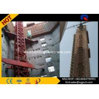 Quality 38m Span Internal Climbing Tower Crane 3 Ton Building Construction Safety for sale