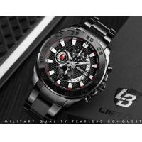 Quality Wholesale LIEBIG Fashion Business Sport Men Multifunction Chronograph Steel for sale