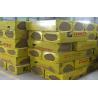 Buy cheap Rock Wool , Fireproofing Rock Wool Insulation Block  From Molten Basalt Rocks from wholesalers