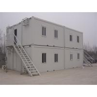 China Prefab Flat Roof  Multi Stories Container Building Warehouse New Industrial Building wholesale