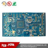 Buy cheap high frequency pcb multilayer pcb with immersion gold professional FR4 pcb manufacturer from wholesalers