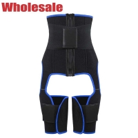 China NANBIN 2 In 1 Butt Lifter And Thigh Trimmer Plus Size Waist Cincher wholesale