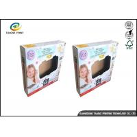 China Folding Die Cut Corrugated Packaging Box With Window For Children Toy Gift wholesale