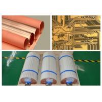 Quality 18 micron EDCU electrolytic copper foil single side type with width 530 mm for for sale