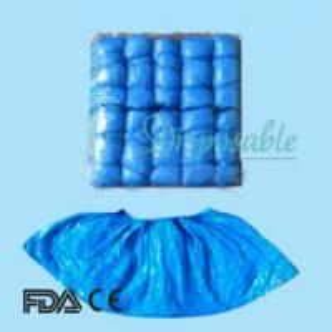 China Disposable non slip shoe covers wholesale