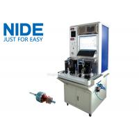 China High efficiency Motor Testing Equipment , Armature Tester For Stater Motor wholesale