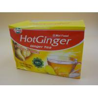 China Soft Honey Tea Ginger Instant Drink Powder Particle Calorie Free 10 G * 20 Pcs wholesale