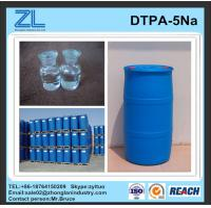China light yellow DTPA-5Na liquid wholesale