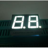 """China Ultra White 2-digit 0.56"""" Cathode 7 Segment LED Display for home applinces wholesale"""