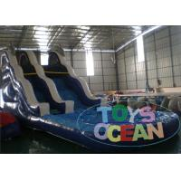 China Commercial Inflatable Water Slides , Kids Inflatable Pool Slide wholesale