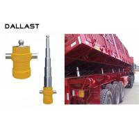 China Telescopic 5 Stage Multi Stage Hydraulic Cylinder  for Side Dumper Truck wholesale