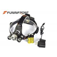 China 30W Powerful 3000LMs 3T6 CREE Outdoor Bicycle Led Headlamp Camp Headlight wholesale