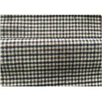 600 G / M Little Tartan Plaid Fabric With 30 Wool 70 Synthetic Vintage Suit/Coat