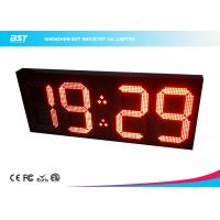 China Big 18 Inch Wireless Digital Clock Led Display Module By Remote Control wholesale