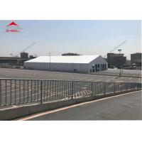 China Clear Span 20 M PVC Foof Cover Outdoor Event Tent / Aluminum Frame Garden Party Marquee on sale