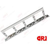 1u stainless steel 24 port rj45 rack mount patch panel for