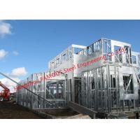 China Galvanized H- Beam Steel Structure Framing Systems For Workshop or Villa House wholesale