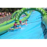 China Super quality 300m inflatable slide the city, inflatable water slip n city slide for adult wholesale