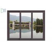 China Single / Double Glazed Thermal Break Aluminum Windows Easy Install For Building wholesale
