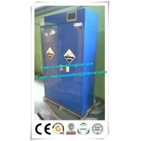 China 90 Gal Industrial Safety Cabinets Metal Acid And Corrosive Storage Cabinets on sale