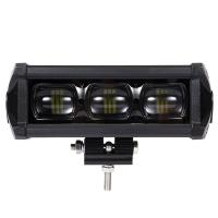 China 8D 8 Inch Waterproof SUV Led Light Bars With Bracket Led Driving Lamp 30W 2100LM wholesale