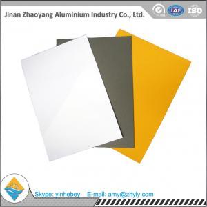 China 1100 0.5mm Pre Painted Aluminium Alloy Sheet Aluminium Plate For Electronics wholesale