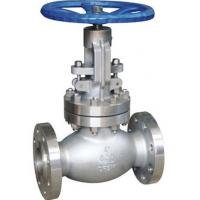 China BS 1873 Bolted Bonnet Globe Valve 16 Inch CN3MN Material , API 598 Test Standard wholesale