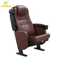 China Great Lumbar Support Comfort Head Cushion Movie Theatre Chairs With Cupholder wholesale