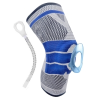 China Woven Series Brace and Anti-collision Compression Knee Sleeve Best Knee Brace Palm, Knee And Waist Bandage Brace wholesale