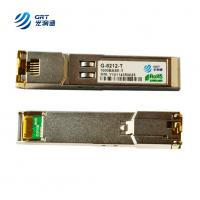 Buy cheap compatible finisar fclf-8521-3 sfp transceiver Copper RJ45 module 1000base-tx from wholesalers