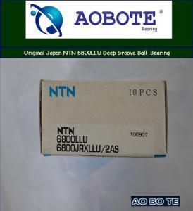 China Sealed 2RS NTN Ball Bearings 6800LLU , Deep Groove Ball Bearing in Airport wholesale